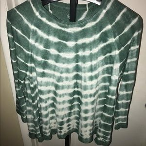 Style and Co Top Tiedye XL Stretch Tunic Dipdye